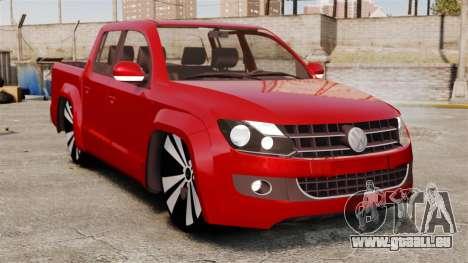 Volkswagen Amarok 2.0 TDi AWD Trendline 2012 pour GTA 4