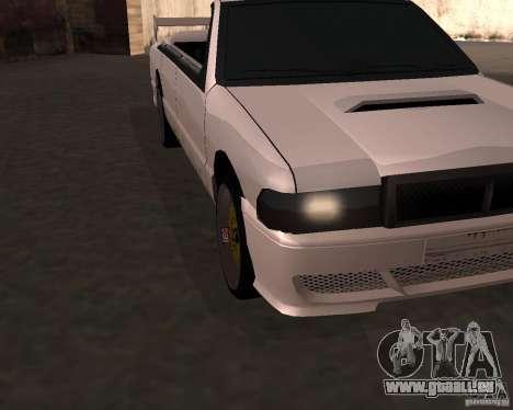 Taxi-Cabriolet für GTA San Andreas linke Ansicht