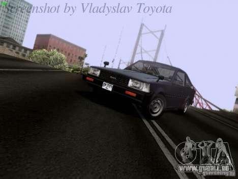 Toyota Corolla TE71 Coupe für GTA San Andreas linke Ansicht