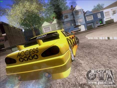 Elegy Cabrio Edition für GTA San Andreas Seitenansicht