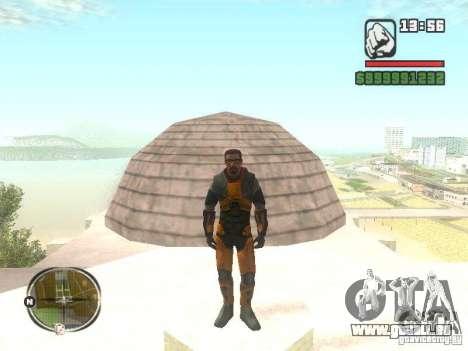 Gordon Freemen für GTA San Andreas