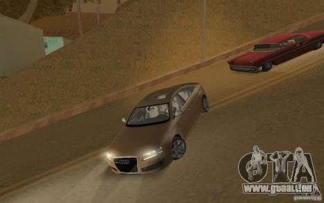 Audi RS6 TT Black Revel pour GTA San Andreas laissé vue