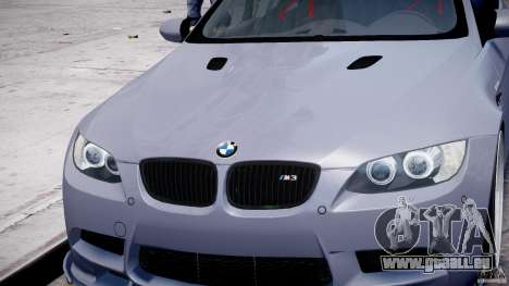 BMW M3 Hamann E92 pour GTA 4 roues