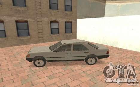 Mercedes-Benz E200 W124 pour GTA San Andreas laissé vue