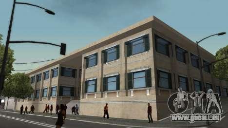 Structure des garages et bâtiments en fo pour GTA San Andreas