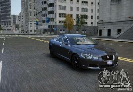 Jaguar XFR 2010 V.2.0 für GTA 4 rechte Ansicht