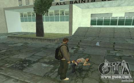 Animation de GTA IV pour GTA San Andreas septième écran