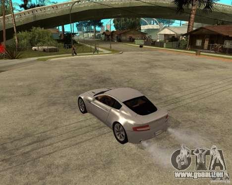Aston Martin VANTAGE concept 2003 pour GTA San Andreas laissé vue