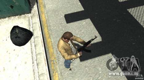 Red Army Mod (Realistic Weapon Mod) für GTA 4 dritte Screenshot