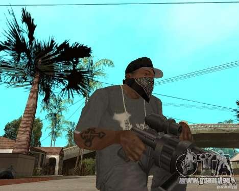 Shotgun in style revolver für GTA San Andreas zweiten Screenshot