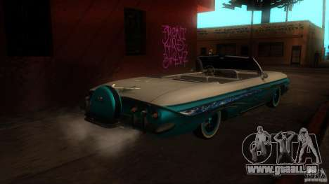 Chevy Impala SS 1961 für GTA San Andreas rechten Ansicht