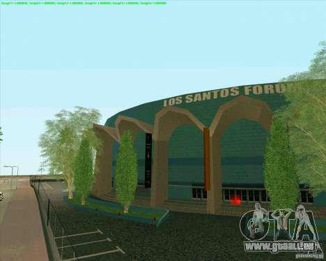Nouvelles textures Los Santos Forum de stade pour GTA San Andreas deuxième écran