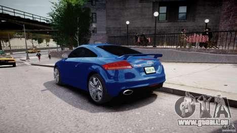 Audi TT RS Coupe v1 für GTA 4 Seitenansicht
