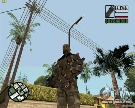 Minigun de Call of Duty Black Ops pour GTA San Andreas