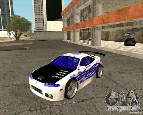 Mitsubishi Eclipse street tuning für GTA San Andreas