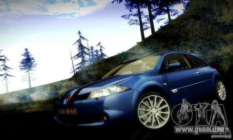 Renault Megane Coupe 2008 TR pour GTA San Andreas vue de côté