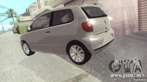 Volkswagen Fox 2013 für GTA San Andreas rechten Ansicht
