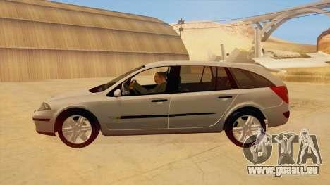 Renault Laguna II für GTA San Andreas zurück linke Ansicht