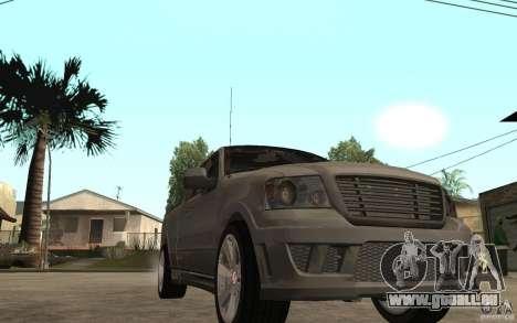 Saleen S331 Super Cab pour GTA San Andreas vue arrière