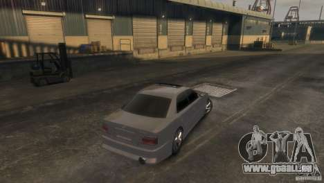 Toyota Chaser 2.5 Tourer V pour GTA 4 est une gauche