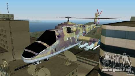Mi-24 HindB für GTA Vice City