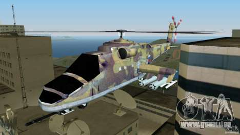 Mi-24 HindB pour GTA Vice City