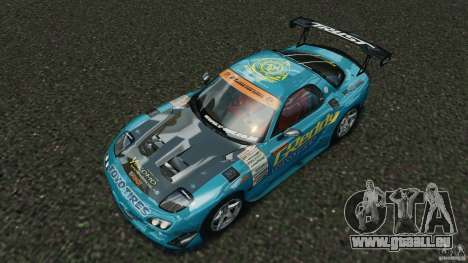 Mazda RX-7 RE-Amemiya v2 für GTA 4 Unteransicht