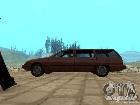 Suspension pneumatique pour GTA San Andreas deuxième écran
