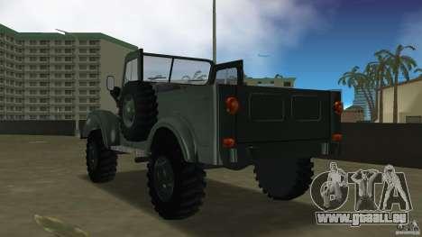 Aro M461 für GTA Vice City zurück linke Ansicht
