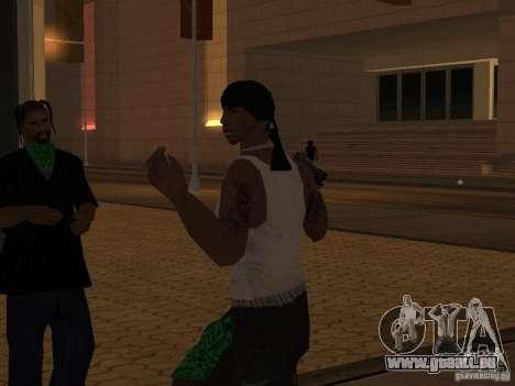 Ersetzen Sie alle Felle Grove Street Familien für GTA San Andreas siebten Screenshot