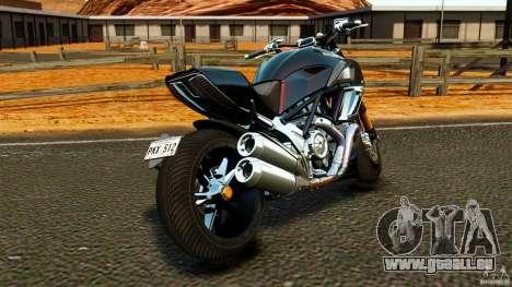 Ducati Diavel Carbon 2011 pour GTA 4 Vue arrière de la gauche