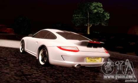 Porsche 911 Sport Classic für GTA San Andreas Innen