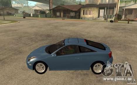 Toyota Celica SS2 pour GTA San Andreas laissé vue