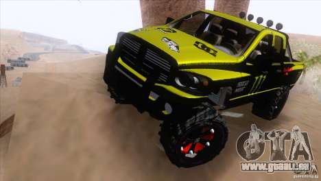 Dodge Ram 4x4 pour GTA San Andreas