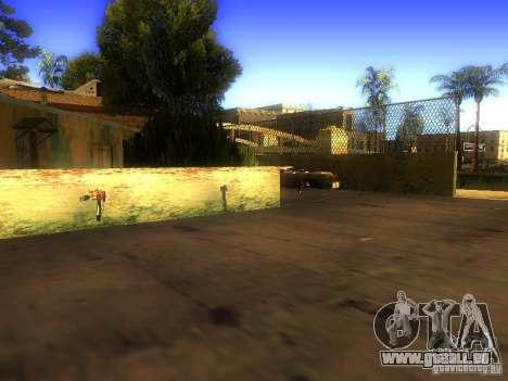Waffen in der Grove Street für GTA San Andreas fünften Screenshot