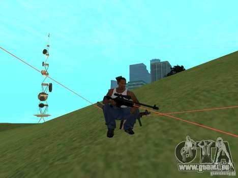 Laser Weapon Pack für GTA San Andreas achten Screenshot