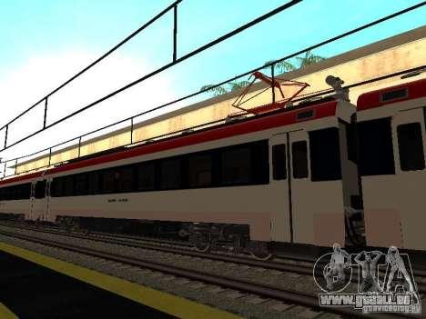 Ed4mk 0155 pour GTA San Andreas laissé vue