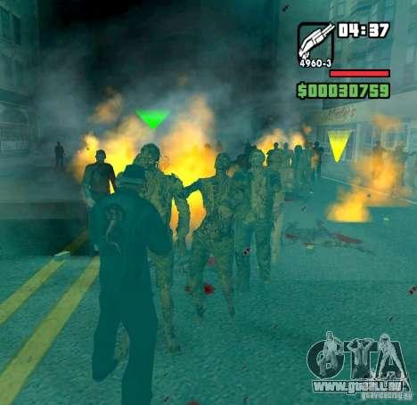 Zombie Alarm pour GTA San Andreas deuxième écran