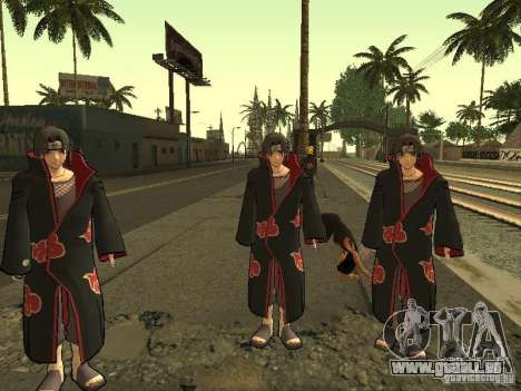 The Akatsuki gang für GTA San Andreas dritten Screenshot