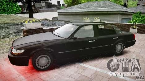 Washington FBI Car pour GTA 4 est une vue de l'intérieur