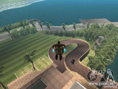 Manoir de l'île pour GTA San Andreas deuxième écran