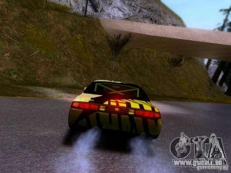 Nissan Silvia S14 Matt Powers v3 pour GTA San Andreas vue de côté