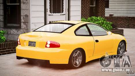 Pontiac GTO 2004 pour GTA 4 est une vue de l'intérieur
