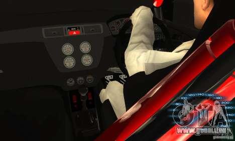 Mitsubishi Lancer IX APR pour GTA San Andreas vue arrière
