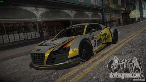 Audi R8 LMS für GTA San Andreas Innen