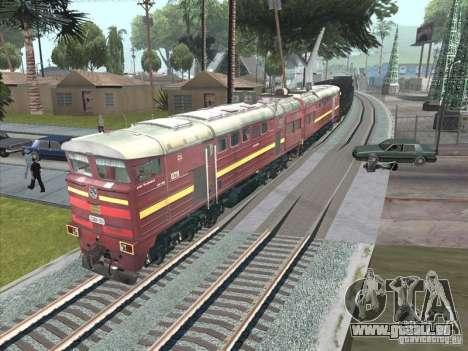 2te10u-0211 für GTA San Andreas zurück linke Ansicht