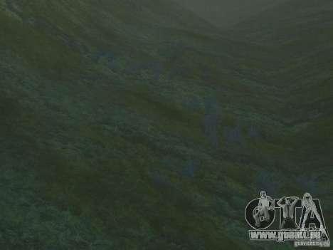 Textures HD des fonds marins pour GTA San Andreas troisième écran