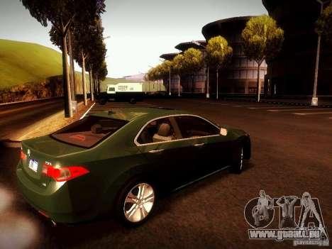 Acura TSX für GTA San Andreas linke Ansicht