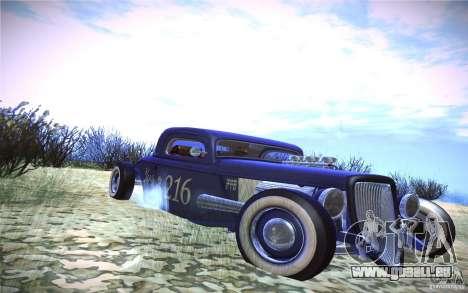 Ford Ratrod 1934 pour GTA San Andreas laissé vue