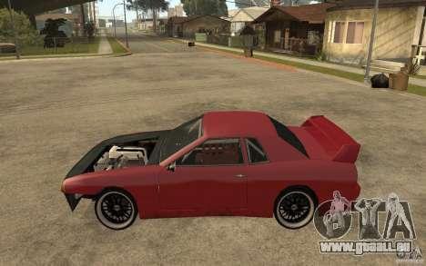 Drift Elegy pour GTA San Andreas laissé vue